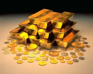 pensiun dengan emas