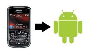 memindahkan kontak BB ke android