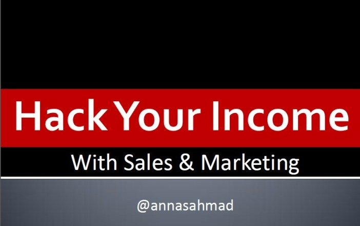 Hack your income